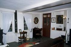 Louisa May Alcott wrote Little Women, a pioneering novel for and about girls, in this room in Orchard House, Concord, MA.