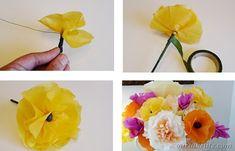 DIY Poppy Flower 1