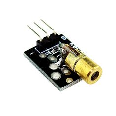 #robotics Product Description : Dot laser Operating voltage 5V Power 5Mw Wavelength 650n m OD 6mm 1 This 5V laser head very easy to use, you can use #Arduino con...