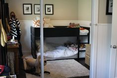{Home & Garden} Addie's & Hay's Room and Toddler Bunk Bed | My Favorite Everything