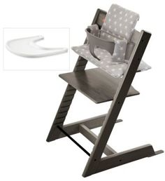 $349.99 Infant Stokke 'Tripp Trapp' Chair, Baby Set, Cushion & Tray Set #afflink