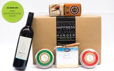 Give your Mom and evening to indulge and relax with the cheese, crackers and ONEHOPE wine. Bonus: Each gift box purchased provides a child in a food insecure home with meals for the weekend.