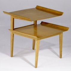 Abel Sorensen; Birch Side Table for Knoll Associates, c1948.
