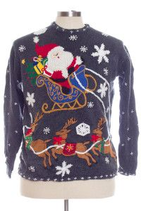 Multicolor Ugly Christmas Pullover 29074
