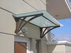 Simple canopy from cast aluminium