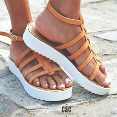 8fd7f7402e5c Leather women natural Sandal shoes Gladiator by ccfashionstr Gladiator  Sandals, Leather Sandals, Shoes Sandals