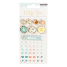 Crate Paper LITTLE YOU BOY Mixed Embellishments 680396 zoom image