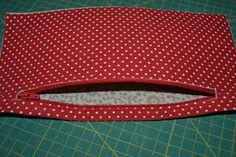 Momentos de costura: carteira maleta Tutorial