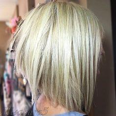 Short Blonde Razor Cut