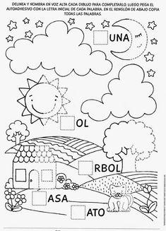 Spanish Lessons For Kids, Spanish Teaching Resources, Spanish Activities, Preschool Activities, Kindergarten Homework, Preschool Writing, Preschool At Home, Bilingual Education, Kids Education
