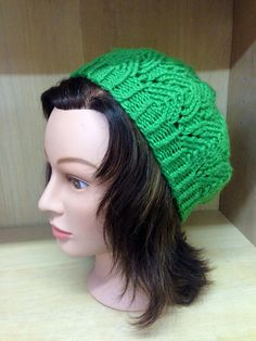 Green Lace Beret on Etsy, $23.00