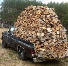 Thats a big jag a wood...
