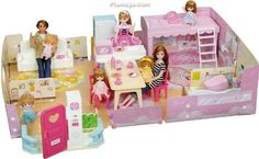 Lica chan House set (accessory, doll not included)