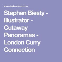 Stephen Biesty - Illustrator - Cutaway Panoramas - London Curry Connection