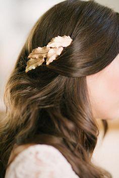 Tessa Kim gold leaf comb