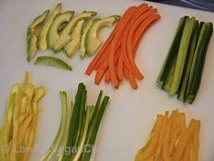 How To Prep Veggies For Vegan Sushi Rolls