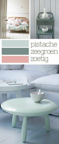 Donderdag kleuradvies pasteltinten pastel dyes villa d for Interieur kleuradvies