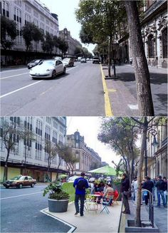 Making room for people on the Av. 20 de Noviembre, Mexico City. Click image to tweet and visit the slowottawa.ca boards >> https://www.pinterest.com/slowottawa/