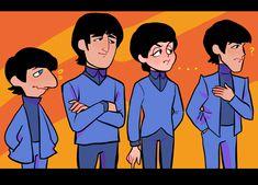 Foto Beatles, Beatles Guitar, Beatles Art, John Lennon Beatles, The Beatles, Fanart, The Quarrymen, John Lennon Paul Mccartney, Rock And Roll Bands