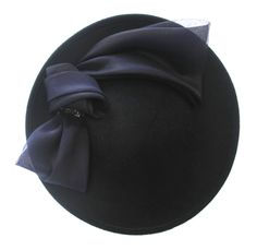 Jane Taylor Navy Bow Hat