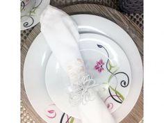 Aparelho de Jantar Alegra 45 Peças - em Porcelana Edfort com as melhores condições você encontra no Magazine Jsantos. Confira!