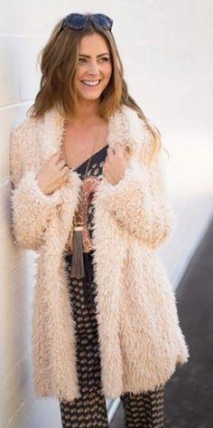Cloud Nine Fuzzy Coat