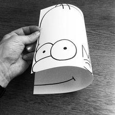 Lfernandes: Ilustrações que só fazem sentido se forem dobradas...