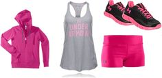 """""""going to the gym"""" by cmseven on Polyvore"""