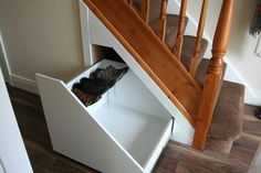 In order to maximise your space all our under stairs units are custom made specifically for each house we visit. In order to maximise your space all our under stairs units are custom made specifically for each house we visit. Under Stairs Storage Drawers, Under Stairs Cupboard, Attic Storage, Cupboard Storage, Bedroom Storage, Storage Spaces, Storage Ideas, Closet Storage, Cupboard Ideas