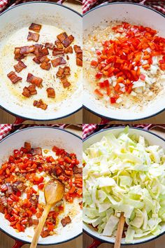 Cabbage And Bacon, Fried Cabbage, Paleo Bacon, Good Food, Yummy Food, Vegetable Side Dishes, Quick Easy Meals, Low Carb Recipes, Fries