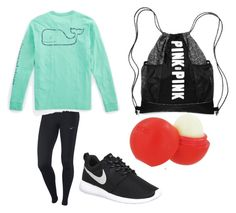 """""""Jumpzone"""" by haley-grace-brand on Polyvore featuring NIKE, Vineyard Vines, Eos, women's clothing, women, female, woman, misses and juniors"""