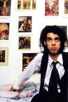 Nick Cave in his Berlin Home