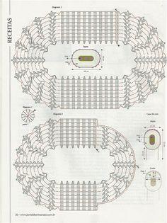 Acessórios de Banho Crochet - O mundo criativo-