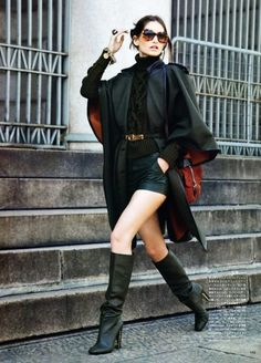 ♥ how to wear boots #shoes street style