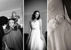 Loving all the details. | Viera Photographics | See more of this stunning real #wedding: http://www.mywedding.com/articles/jason-lisas-ocean-cliff-wedding-newport-ri/
