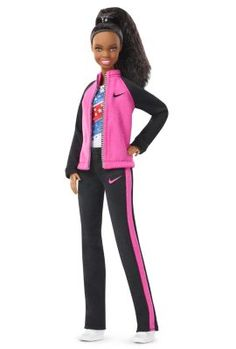 Check out the Gabby Douglas Barbie Doll at the official Barbie website. Explore the world of Barbie today! Gabby Douglas, Fashion Sewing, Fashion Dolls, Fashion Show, Barbie Clothes, Barbie Dolls, Girl Barbie, Barbie Outfits, Mattel Barbie