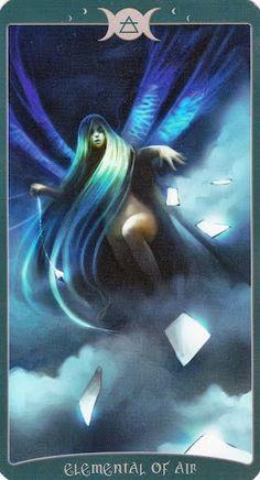 Đặc biệt Lá Elemental of Air - Book of Shadows Tarot (As Above) bài tarot Xem thêm tại http://tarot.vn/la-elemental-air-book-shadows-tarot/