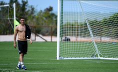 Sweltering: Germany's Mesut Ozil and his international team-mates will face the least agre...