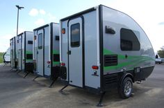 Small Campers Trailers 2018 Aliner Ascape Firsthand Report The Small Trailer Enthusiast Small Camper Trailers, Slide In Camper, Small Travel Trailers, Tiny Camper, Small Trailer, Small Campers, Cool Campers, Popup Camper, Cargo Trailers