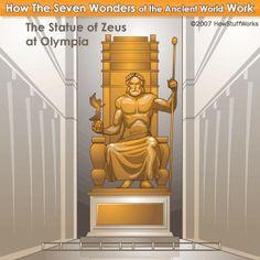 142 beste afbeeldingen van A.W : The Statue of Zeus. in ...