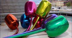 Jeff Koons en el Guggenheim Bilbao - http://www.absolutbilbao.com/jeff-koons-en-el-guggenheim-bilbao/