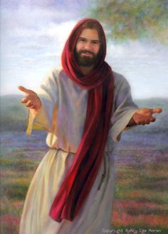pictures of jesus smiling | Come Unto Me is the title of this print of smiling Jesus, Christ ...