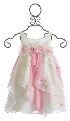 gardenfuzzgarden.com Biscotti Girls Easter Dress Pink and White $86.00 - gardenfuzzgarden.com