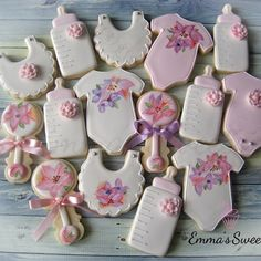 Emma's Sweets - Baby Shower cookies