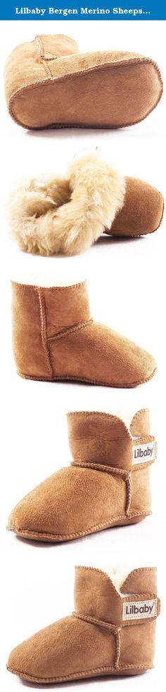 Lilbaby Bergen Merino Sheepskin Baby Bootie (100% PURE Australian Sheepskin, Calf Suede, Velcro Fastener). The Bergen Bootie The Lilbaby Bergen Bootie is plush, super cozy, and stylish, making it the perfect addition to any trendsetting baby's wardrobe. In addition to it's fashion forward design, this baby bootie contains additional benefits due to it's genuine Australian sheepskin and suede composition. The unique qualities of pure Australian Merino sheepskin naturally wick away moisture...