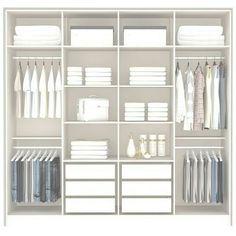 Ideas Bedroom Wardrobe Shelves Walk In For 2019 Wardrobe Design Bedroom, Bedroom Furniture Design, Bedroom Wardrobe, Bedroom Cupboard Designs, Bedroom Cupboards, Wardrobe Door Designs, Closet Designs, Wardrobe Ideas, Closet Layout