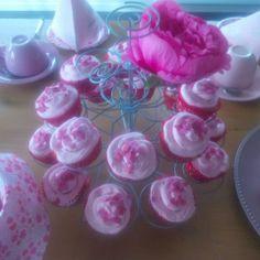 Romantische Cupcakes