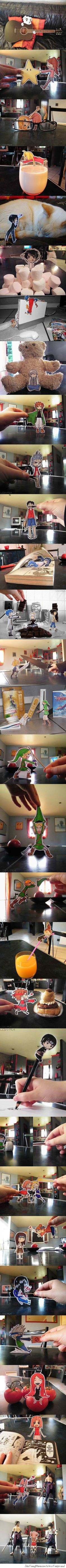 Epic Paper Arts! // funny pictures - funny photos - funny images - funny pics - funny quotes - #lol #humor #funnypictures