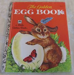 Little Golden Book The Golden Egg Book Margaret Wise Brown #304-11 Easter Bunny