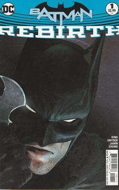 Batman: Rebirth # DC Comics One-Shot ( 2016 )